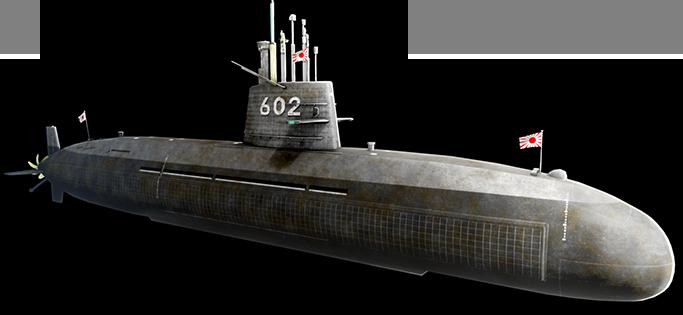 おやしお型潜水艦「きたしお」参戦!